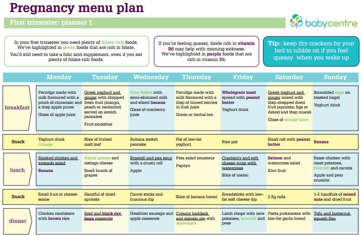 Makanan Sehat Semasa Kehamilan Health And Lifestyle