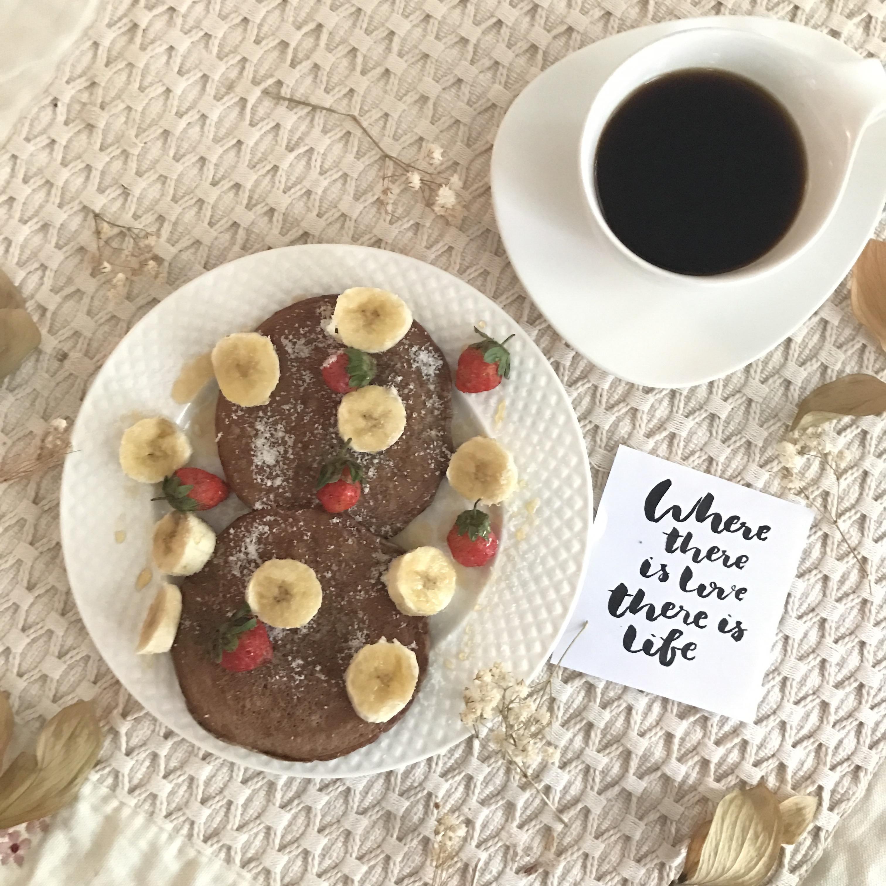 Resep Diet Sehat: Pancake Oatmeal Coklat Pisang